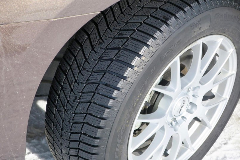 Continental Wintercontact Si Tire Review Video