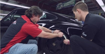 How to Install White Tire Letters