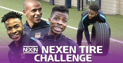 Nexen Tire Challenge with Manchester City Soccer Players (2)