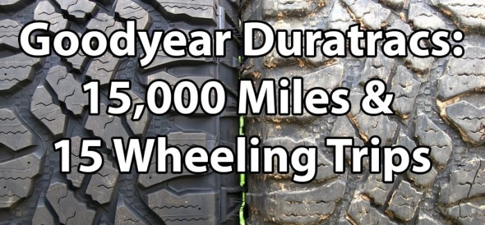 Goodyear Duratrac Tire Review – Video