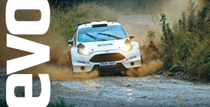 Michelin rally tires tested
