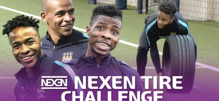 Nexen Tire Challenge with Manchester City Soccer Players – Video