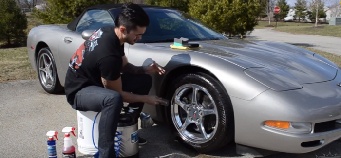 How To Make Your Tires Shine – Video