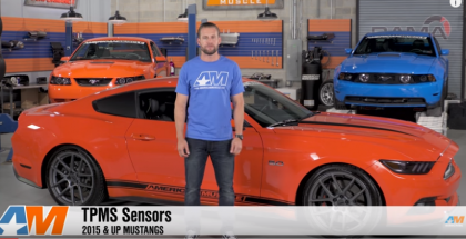 TPMS Tire Pressure Sensors on 2015-2016 Mustangs (1)
