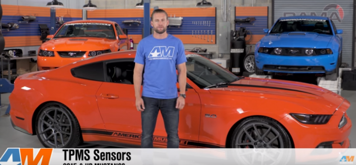 TPMS Tire Pressure Sensors on 2015-2016 Mustangs – Video